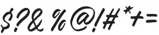 FRUSH otf (400) Font OTHER CHARS