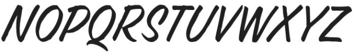 FRUSH otf (400) Font UPPERCASE