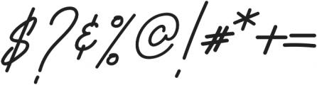 Fractis otf (400) Font OTHER CHARS