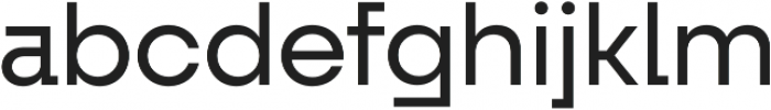 Fractul otf (400) Font LOWERCASE