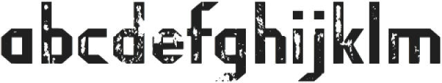Fragile Bombers Attack otf (400) Font LOWERCASE