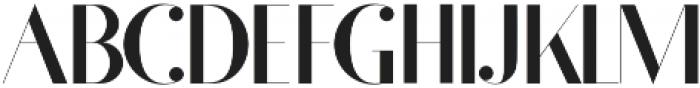Fragile otf (400) Font UPPERCASE