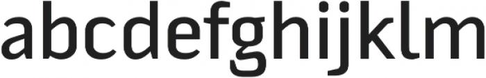 Fragmental Semi Bold otf (600) Font LOWERCASE