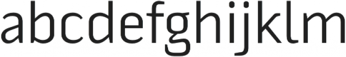 Fragmental otf (400) Font LOWERCASE