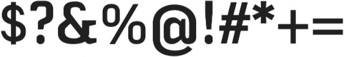 Fragmental otf (700) Font OTHER CHARS