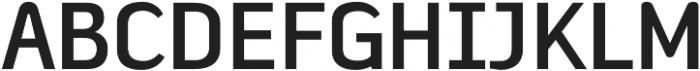 Fragmental otf (700) Font UPPERCASE
