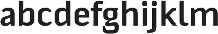 Fragmental otf (700) Font LOWERCASE