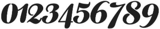 Fragola Black Italic otf (900) Font OTHER CHARS