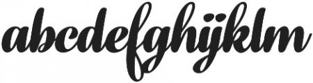 Fragola Black Italic otf (900) Font LOWERCASE