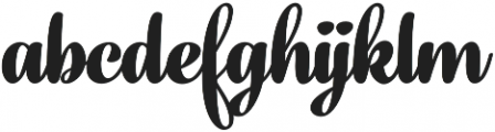 Fragola Black otf (900) Font LOWERCASE