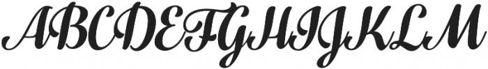 Fragola Bold Italic otf (700) Font UPPERCASE