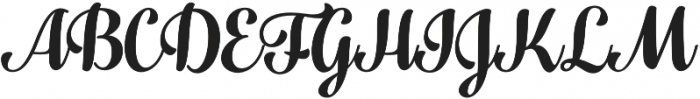 Fragola Bold otf (700) Font UPPERCASE