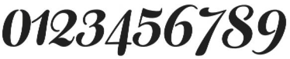 Fragola Italic otf (400) Font OTHER CHARS