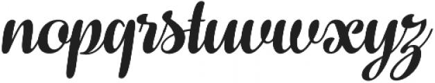 Fragola Italic otf (400) Font LOWERCASE