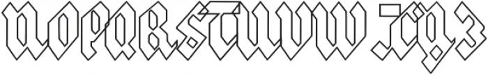 Frakfurt2 otf (400) Font UPPERCASE