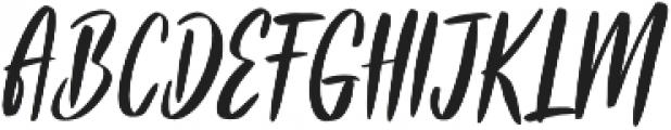 Frances otf (400) Font UPPERCASE