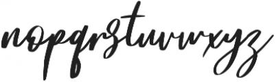 Frances otf (400) Font LOWERCASE