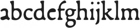 Francesco otf (400) Font LOWERCASE