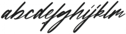 Francestha otf (400) Font LOWERCASE