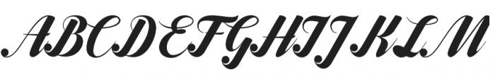 Frangkie otf (400) Font UPPERCASE