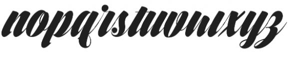 Frangkie otf (400) Font LOWERCASE