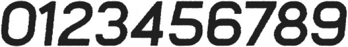 Frank Bold Oblique Rough otf (700) Font OTHER CHARS