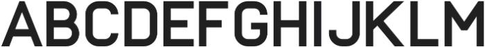 Frank Bold otf (700) Font UPPERCASE