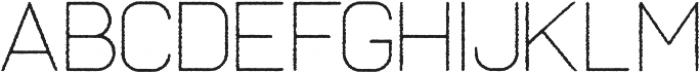 Frank Thin Rough ttf (100) Font UPPERCASE