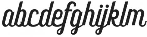 Frankey Script otf (400) Font LOWERCASE