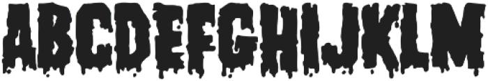 Franklinstein otf (400) Font UPPERCASE