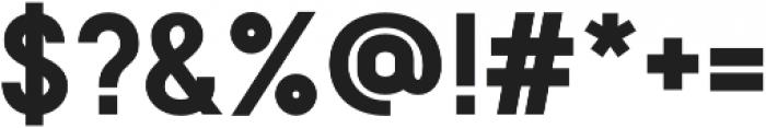 Franks Pro Bold otf (700) Font OTHER CHARS