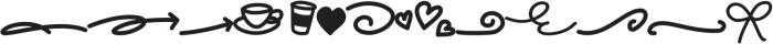 Frappe Latte Elements otf (400) Font UPPERCASE