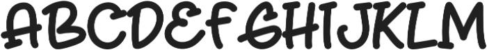 Frappe Latte otf (400) Font UPPERCASE