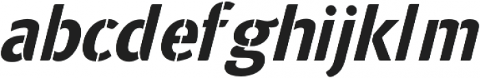 Frate otf (400) Font LOWERCASE
