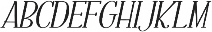 Fratello Nick Bold Italic otf (700) Font UPPERCASE