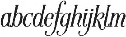 Fratello Nick Bold Italic otf (700) Font LOWERCASE