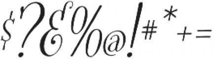 Fratello Nick Italic otf (400) Font OTHER CHARS