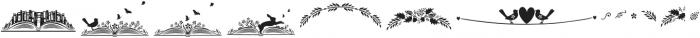 Fratello Nick Ornaments otf (400) Font LOWERCASE