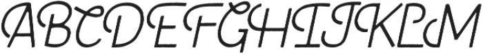 Fraulein Revival Light otf (300) Font UPPERCASE