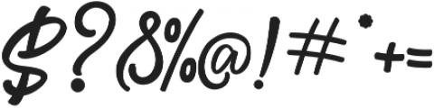Fredly Alternates otf (700) Font OTHER CHARS
