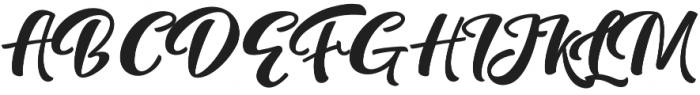 Fredly Alternates otf (700) Font UPPERCASE