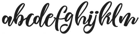 Fredly Alternates otf (700) Font LOWERCASE