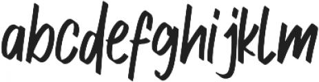 Free Style ttf (400) Font LOWERCASE