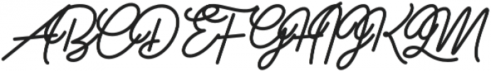 Freeflow otf (400) Font UPPERCASE