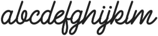 Freeflow otf (400) Font LOWERCASE
