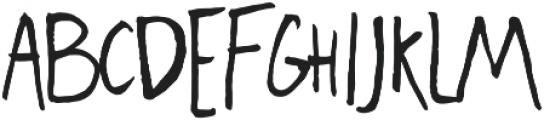 Freehand Blockletter otf (400) Font UPPERCASE