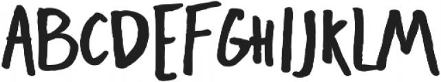 Freehand Blockletter otf (700) Font UPPERCASE