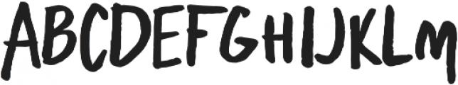 Freehand Blockletter otf (700) Font LOWERCASE