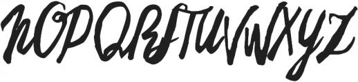 Freehand Brush otf (400) Font UPPERCASE