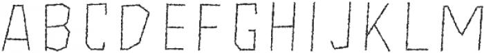 Freich Monsta Fill otf (400) Font LOWERCASE